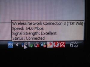 มันบอก Connect อยู่ครับ Excellent ด้วย