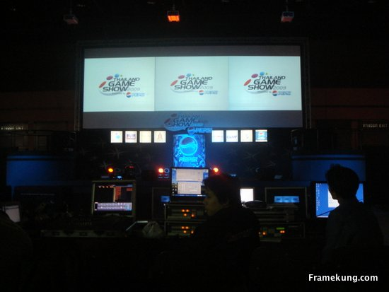 Thailand Game Show 2009 Stage