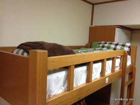 ที่นอนของเฟรม อยู่บนชั้นสองๆ หลับสบายทุกคืน