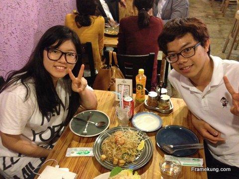 Thai restaurant in Korea