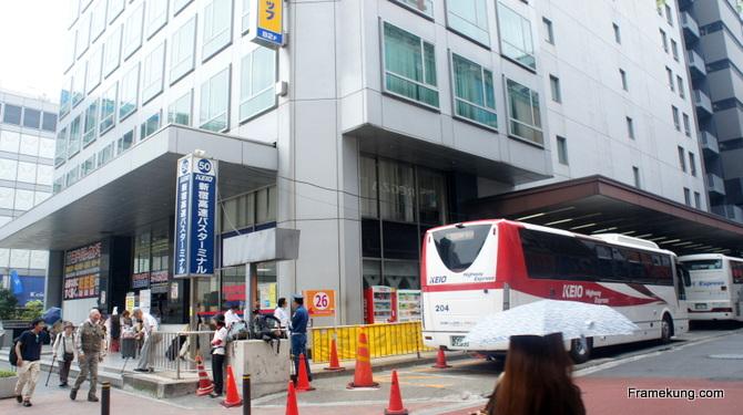 สถานีรถบัสไฮเวย์ ชินจูกุ (Highway Bus)