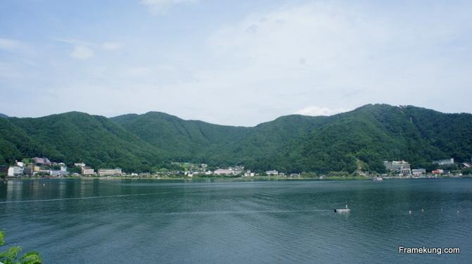 ทะเลสาบคาวากูชิโกะ Kawaguchiko lake