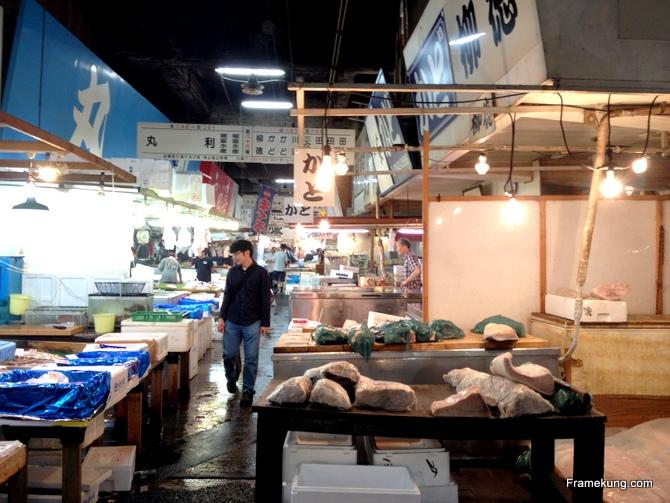 ปลาไซส์ยักษ์ที่ถูกแร่ เตรียมนำส่งไปร้านซูชิ ~