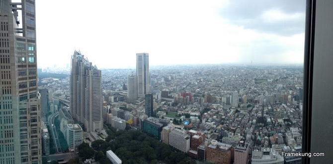 Tokyo Metropolitan Government Building Observatories- Observation desk