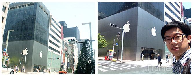 เป็นสาวก Apple ก็ต้องขอมีรูปเป็นหลักฐานไว้หน่อยฮะ ^^