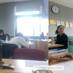 เพื่อนๆในคลาสเรียนภาษาเกาหลี