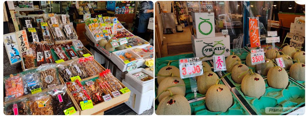 บรรยากาศ ตลาดเช้า Nijo Fish Market ซัปโปโร